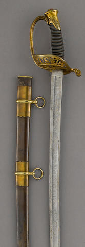 A U.S. Model 1850 Staff & Field officer's sword by William Horstmann & Sons