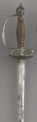 A continental small sword