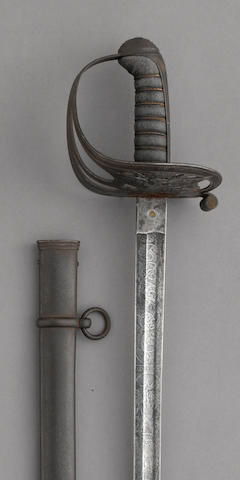A Civil War era non-regulation foot officer's sword by Clauberg