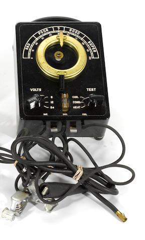 A vintage NOS transmission egnition system tester,