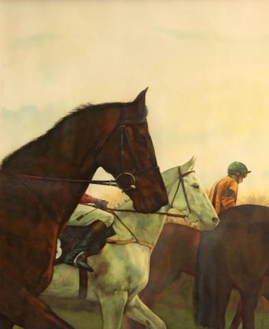 Alan Brassington (British, born 1959) Jockey