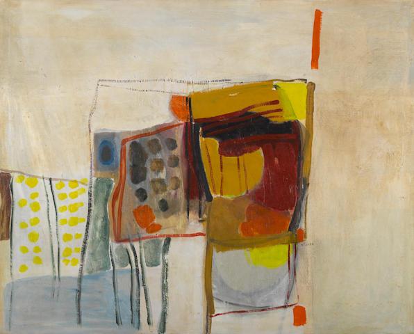 Inez Storer (American, born 1933) Still Life #2, c. 1980 40 x 50in (101.6 x 127cm)