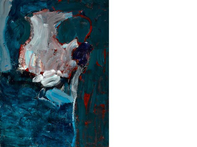 Eileen Downey (American, born 1937) Rain, 1959 46 x 34in (116.8 x 86.4cm)