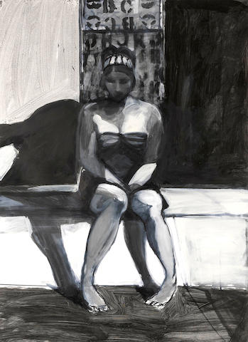 Kim Frohsin (born 1961) Stencil #2, 1998 26 x 19in (66 x 48.3cm)