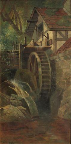 E. Deakin, Watermill, o/c