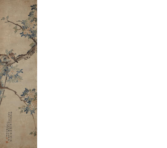 Various Artists  Two hanging scroll