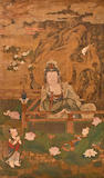 Anonymous (17th/18th century) Guanyin by a Lotus Pond