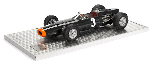 A BRM 261 Formula 1 1:8 scale model by Javan Smith,
