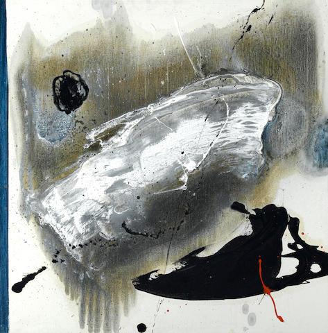 Masatoyo Kishi (born 1924) Opus No. 63-1112, 1963 33 3/4 x 33 3/4in (85.7 x 85.7cm)