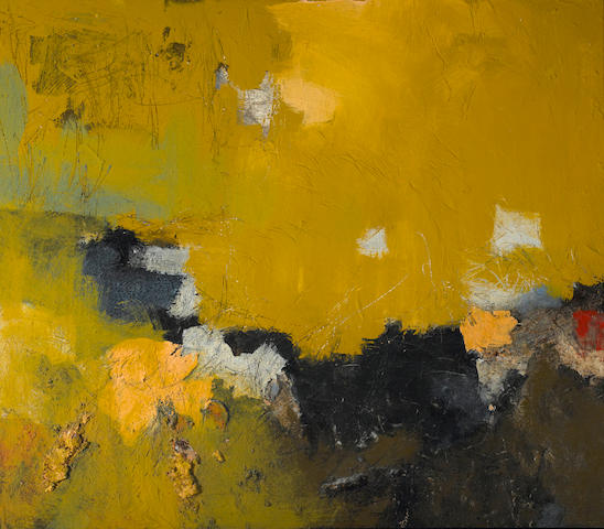 Louis Siegriest (American, 1899-1989) Yellow Sky 42 x 48in (106.7 x 121.9cm)