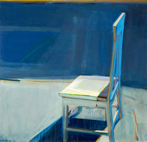 Raimonds Staprans (Latvian/American, born 1926) The San Francisco Chair, 1982 48 x 50in (121.9 x 127cm)