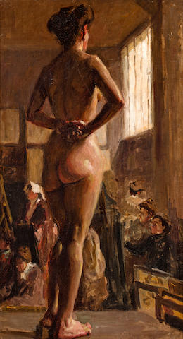 Martha Walter (1875-1976) The Artist's Model