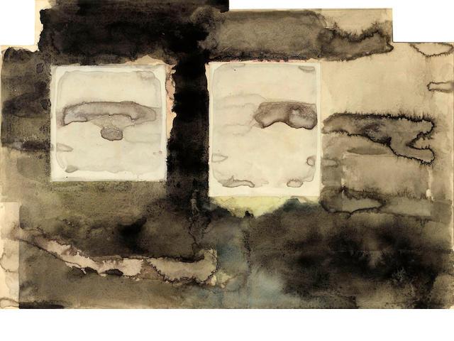Manuel Neri (American, born 1930) Emborados - Chan Chan VI, 1971 irregular 14 1/4 x 21in (36.8 x 53.3cm)