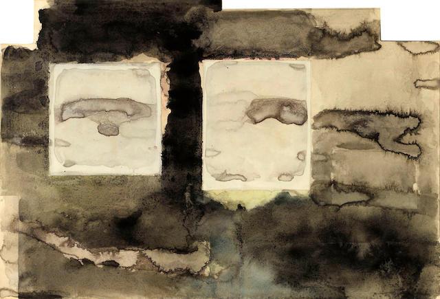 Manuel Neri (born 1930) Emborados - Chan Chan VI, 1971 irregular 14 1/4 x 21in (36.8 x 53.3cm)