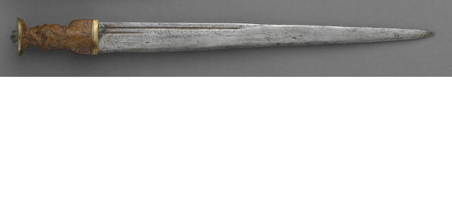 An early Scottish Highland dirk