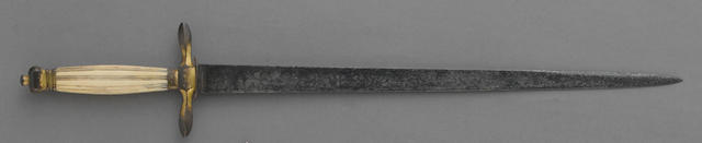 A Georgian naval officer's dirk