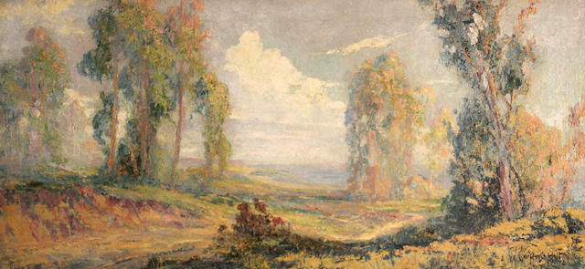 Geoffrey Holt, Landscape with trees