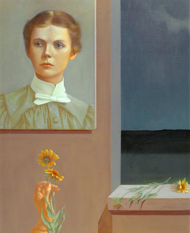 Helen Lundeberg  (1908-1999) Selma (Portrait of the Artist's Mother), 1957 30 x 24in (76.2 x 61cm)