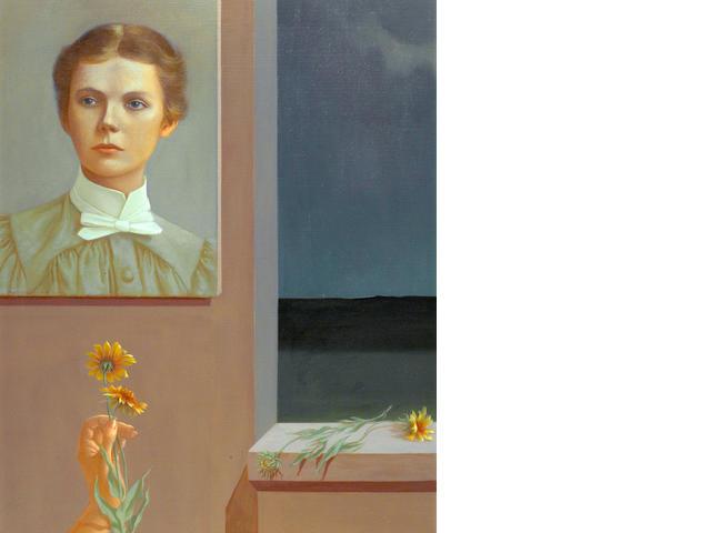 Helen Lundeberg (American, 1908-1999) Selma, 1957 30 x 24in (76.2 x 61cm)