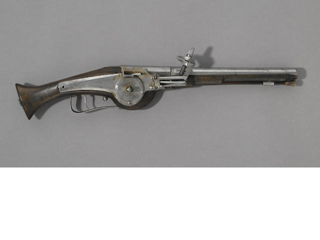 A continental wheel-lock military pistol