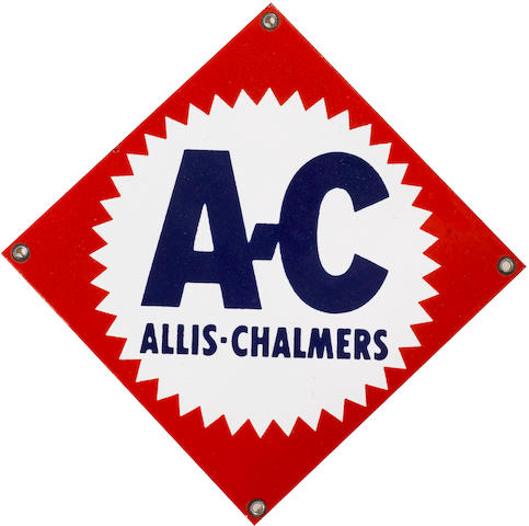 An Allic Chalmers badge,