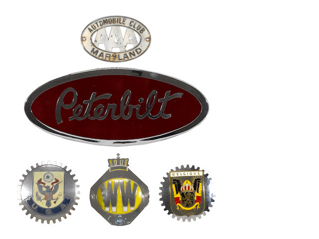 A collection of auto badges,
