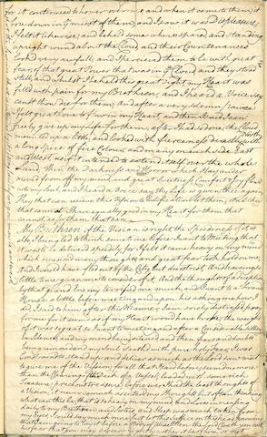 QUAKER MANUSCRIPT. SPAVORD, SAMUEL. Manuscript on paper, 4 pp recto and verso,