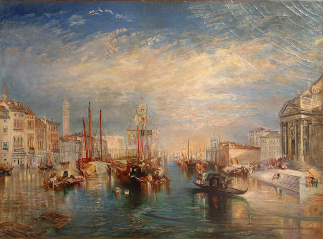 After Turner, View of Venice, 53 x 43 1/2in