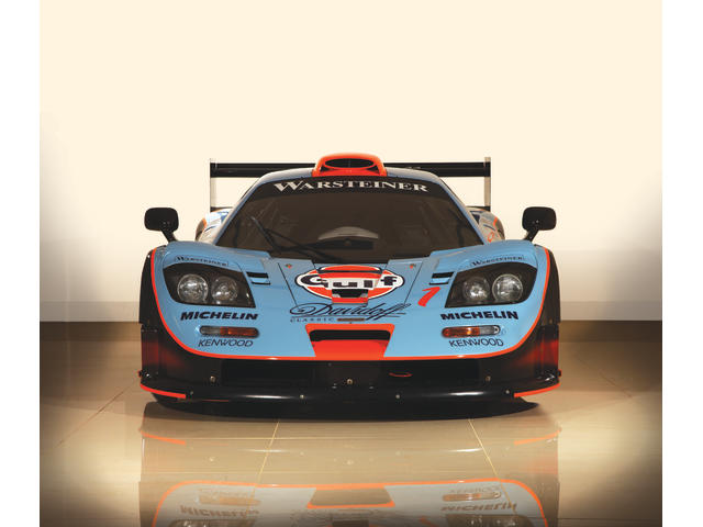 Ex-GTC Gulf Team Davidoff, and the final example produced,1997 McLaren F1 GTR 'Longtail' FIA GT Endurance Racing Coupe  Chassis no. 028R