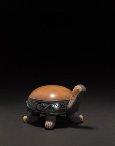 **A Tony Da turtle sculpture**pending confirmation