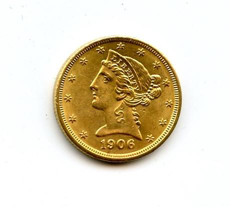 1906 $5