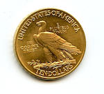 1908 $10 Motto