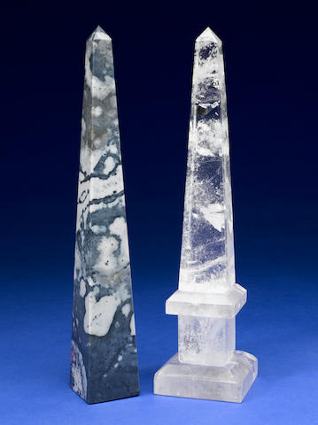 Group of Two Obelisks