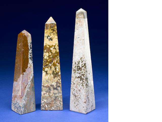3 Ocean Vasper Obelisks