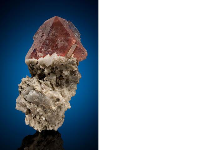 Pink Fluorite, Chamonix