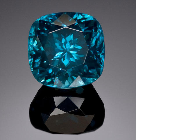 9.1 ct. Blue Zircon