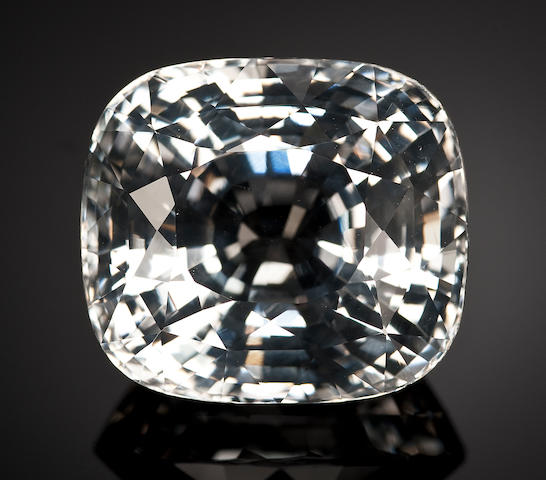 Rare and Immense Colorless Jeremejevite--A World-Class Gem for the Knowledgable Collector