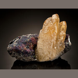 Calcite with Calcopyrite