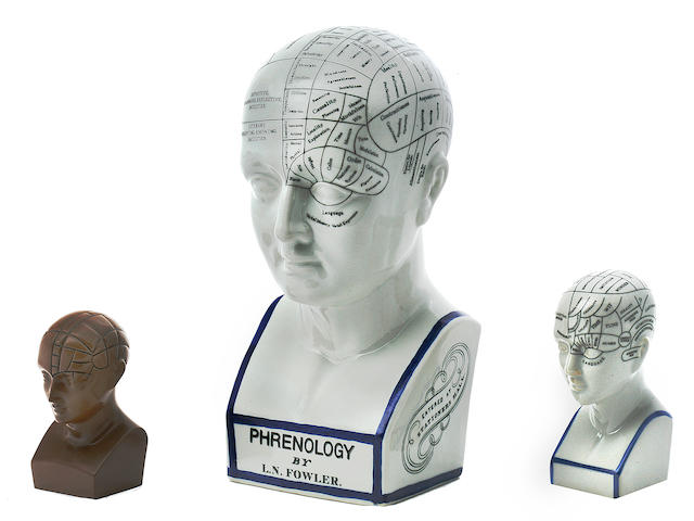 Phrenology Heads and Print