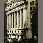 Wall Street Pair of NYSE photos, 2oth century