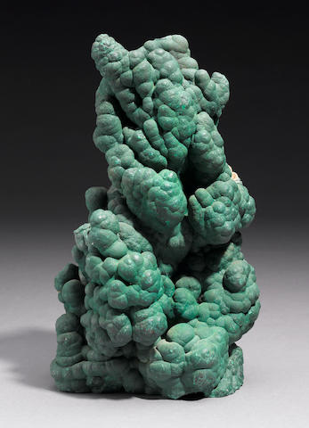 Exceptional and Large Malachite Stalagtite