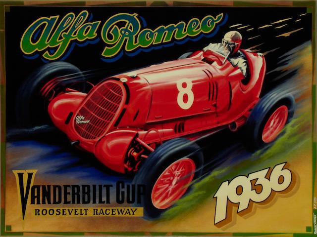 Robert Carter, 'Nuvolari Alfa 12c',