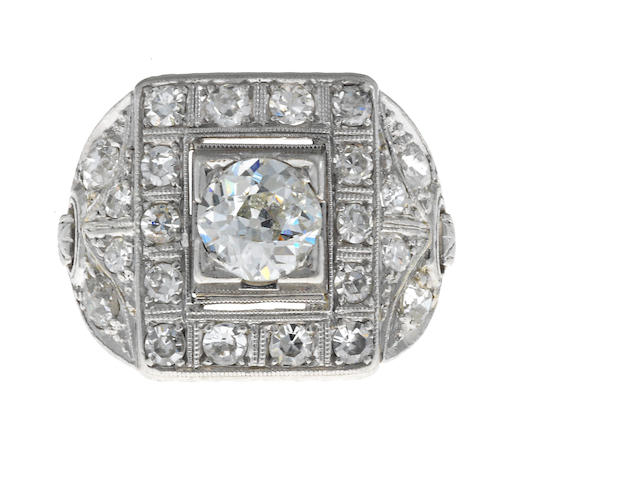 A belle epoque diamond ring,
