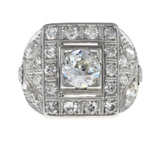 A belle epoque diamond ring,