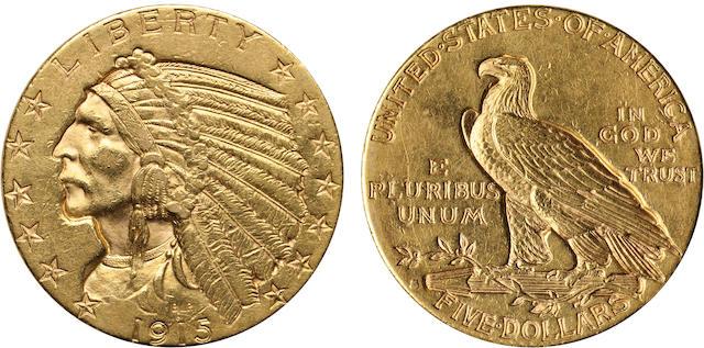 1915-S $5
