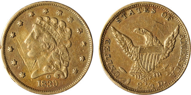 1839-O $2.5