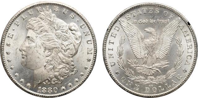 1880-CC $1 GSA MS63 NGC