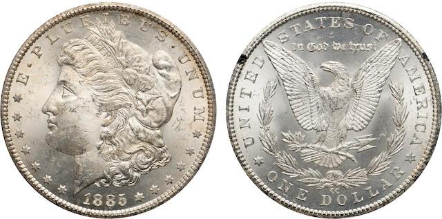 1885-CC $1 GSA MS63 NGC