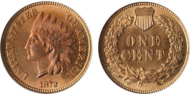 1872 1C MS65 Red PCGS
