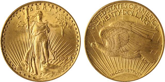 1924 $20 MS62 PCGS